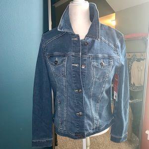 Women's Wrangles Feminine fit Denim Jacket NWT L